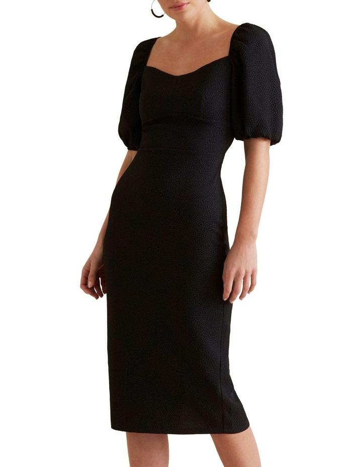 Square Neck Slimline Dress image 1