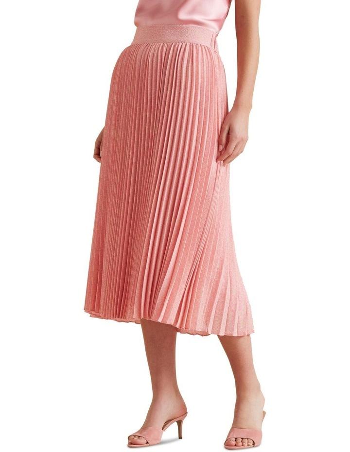 Midi Length Pleat Skirt image 1