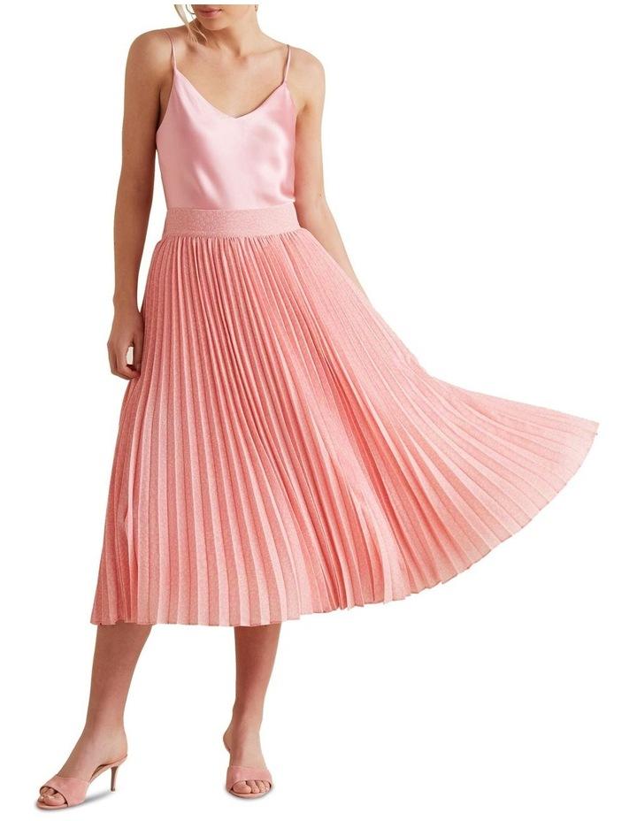 Midi Length Pleat Skirt image 2