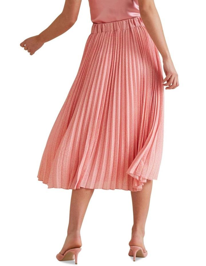 Midi Length Pleat Skirt image 3
