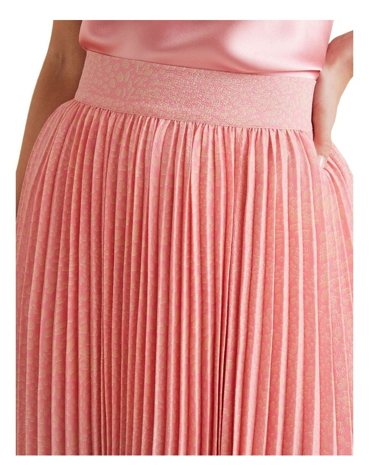 Midi Length Pleat Skirt image 4