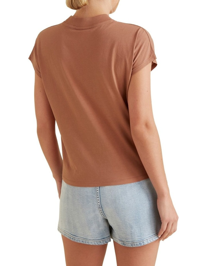 High Neck Tee image 3