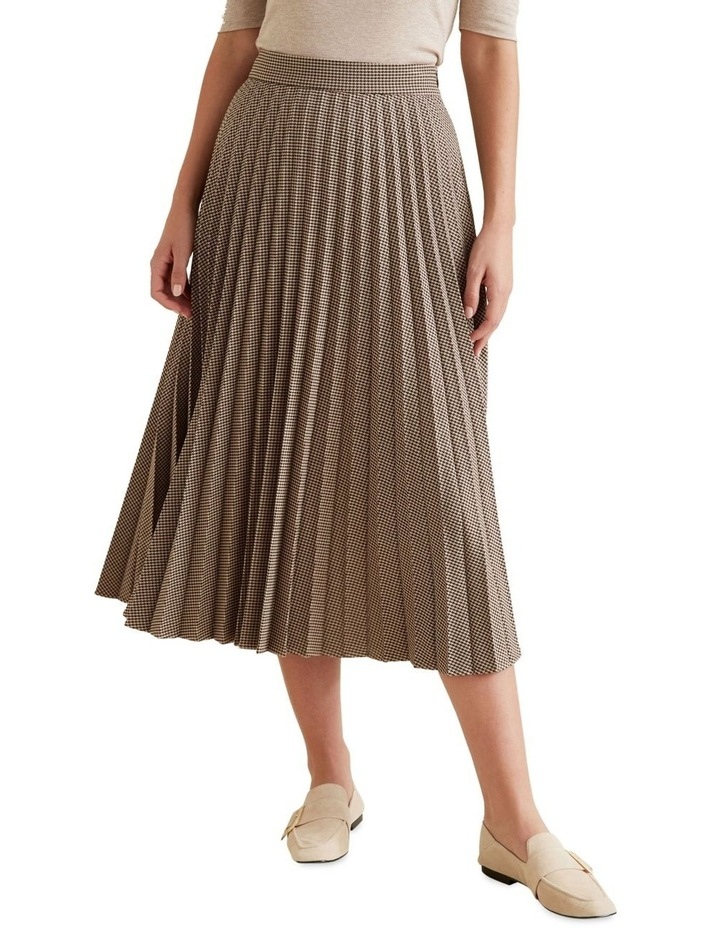 Pleated Check Skirt image 1