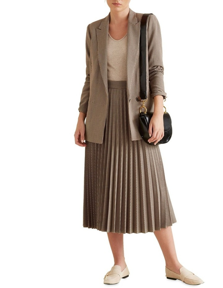 Pleated Check Skirt image 2