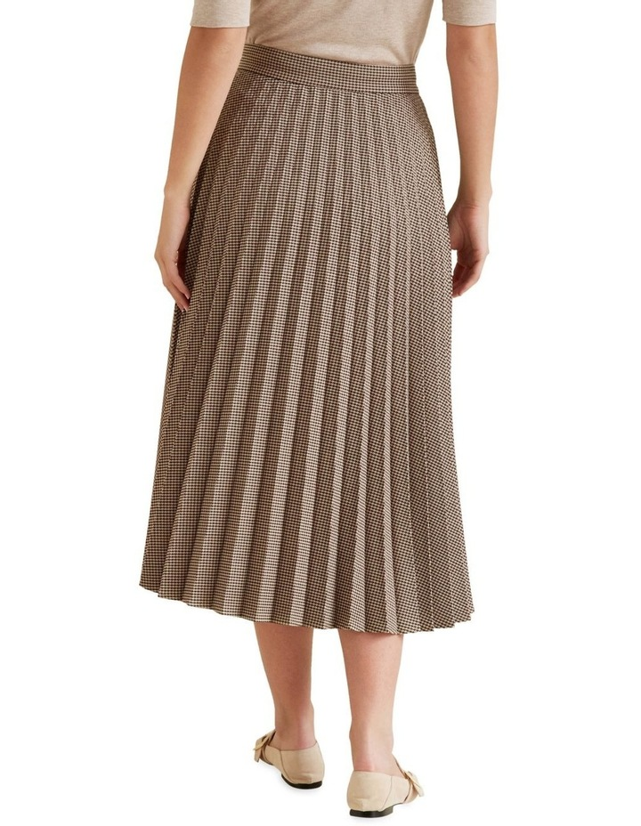Pleated Check Skirt image 3