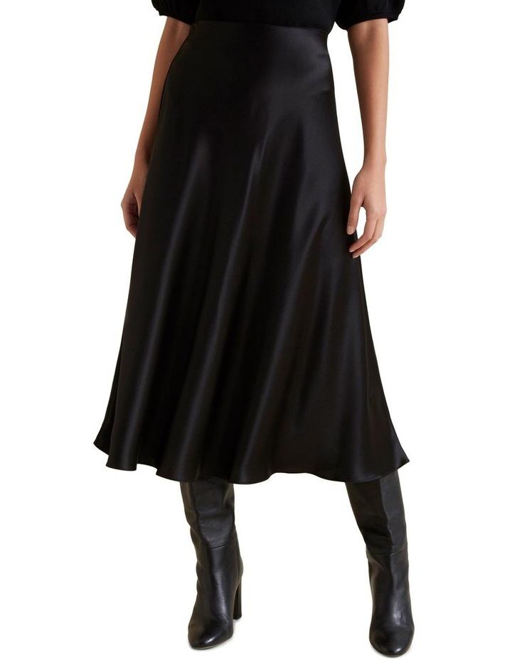 Satin Swing Skirt image 1
