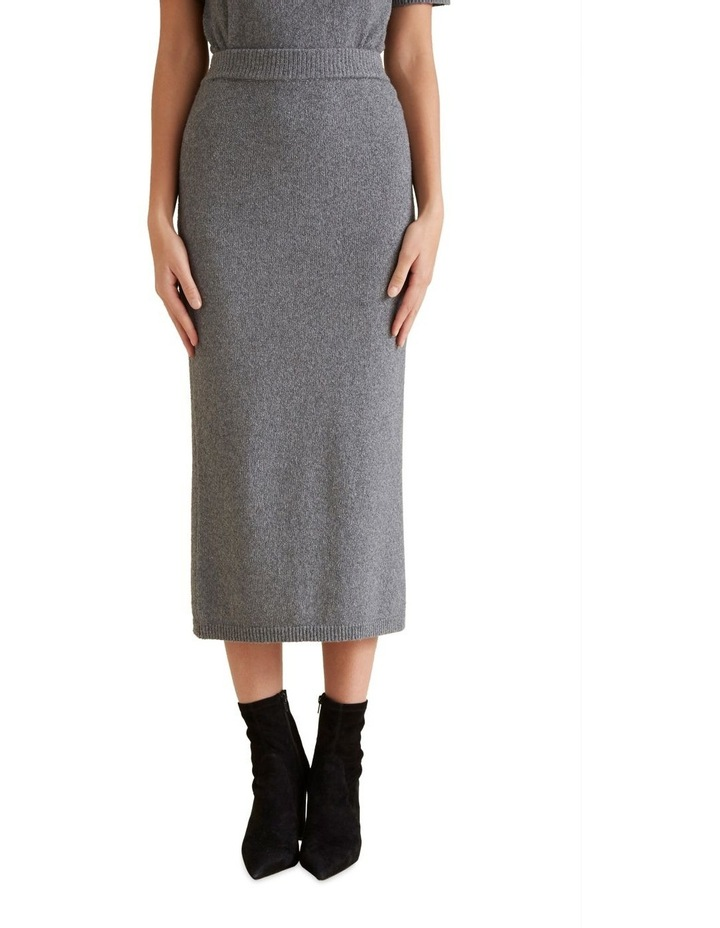 Textured Boucle Skirt image 1