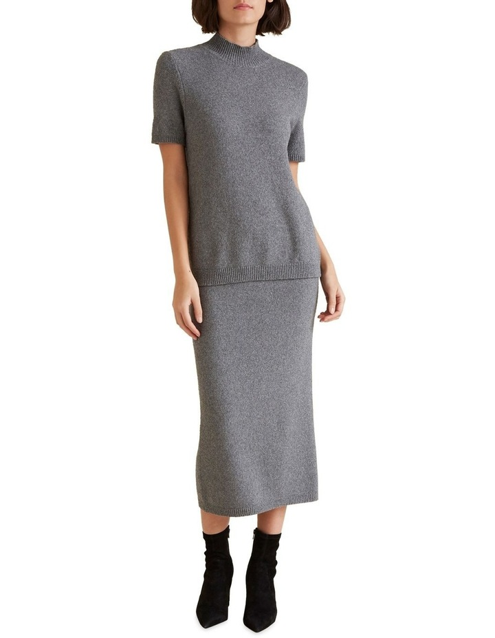 Textured Boucle Skirt image 2
