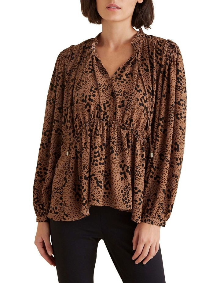Animal Frill Blouse image 1