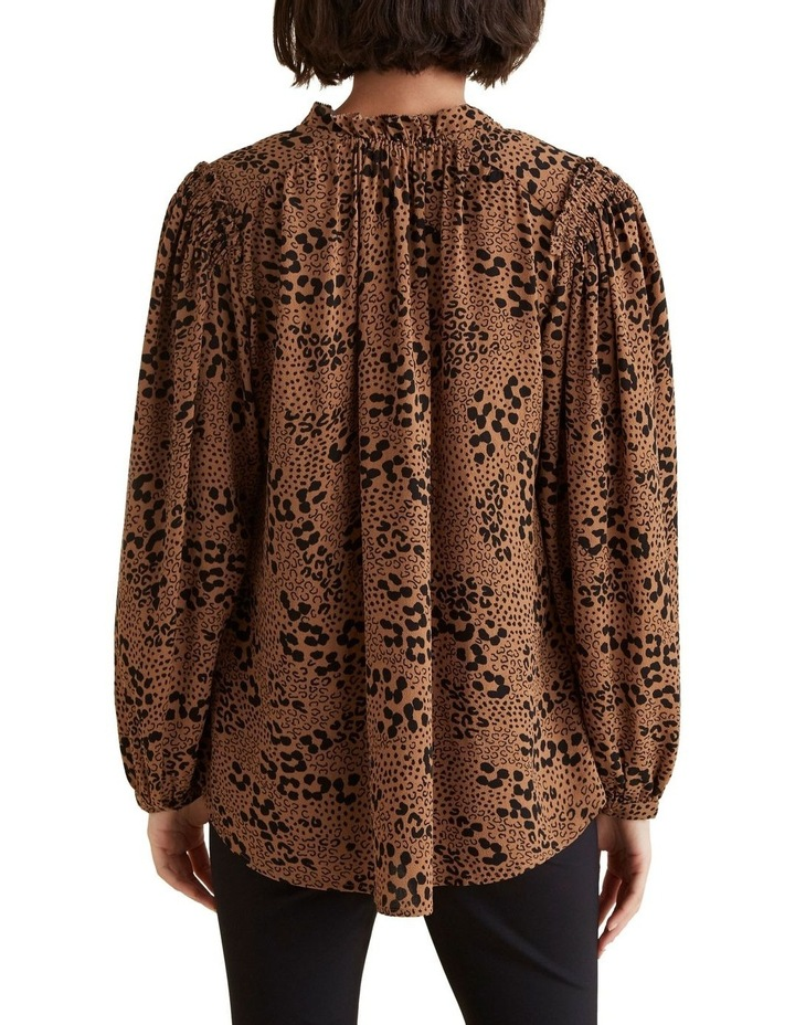 Animal Frill Blouse image 3