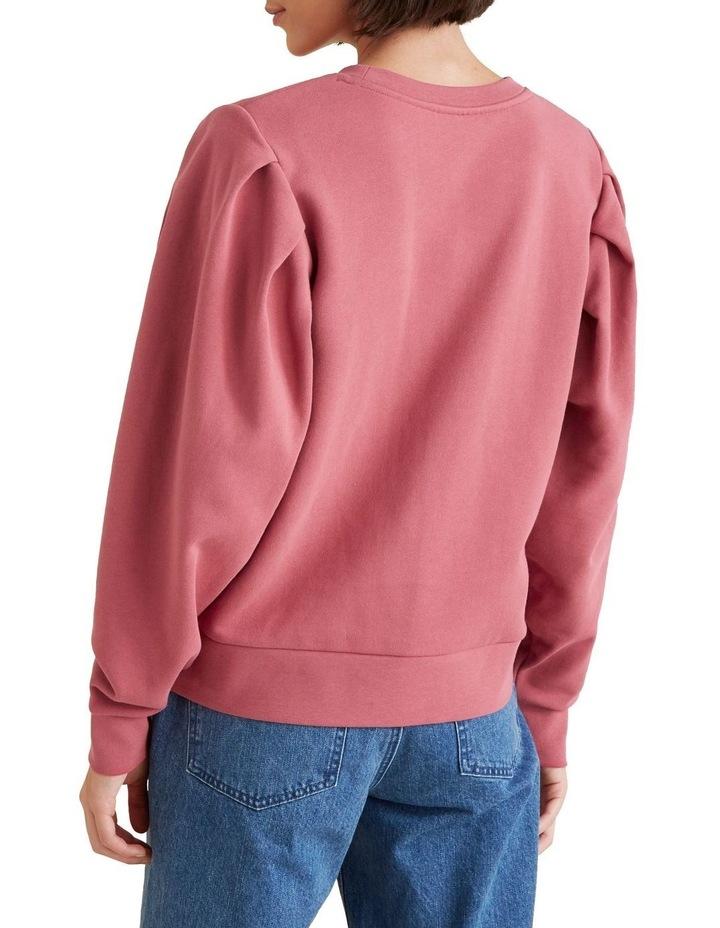 Tuck Detail Blouson Sweater image 3