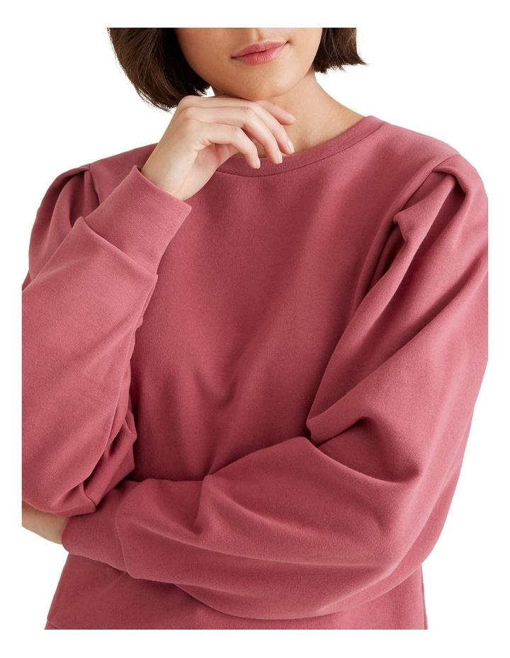 Tuck Detail Blouson Sweater image 4