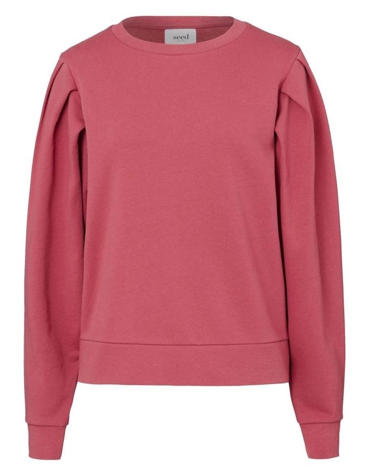 Tuck Detail Blouson Sweater image 5