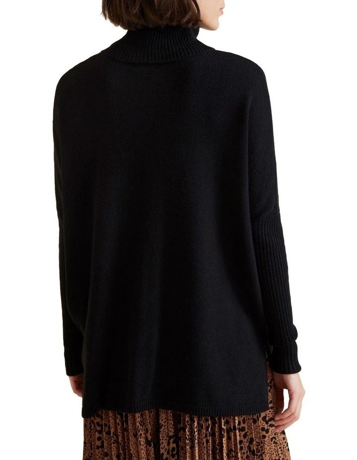 High Neck Boxy Sweater image 3
