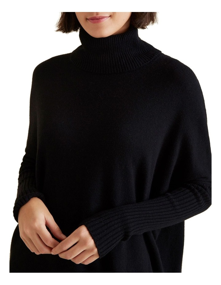 High Neck Boxy Sweater image 4