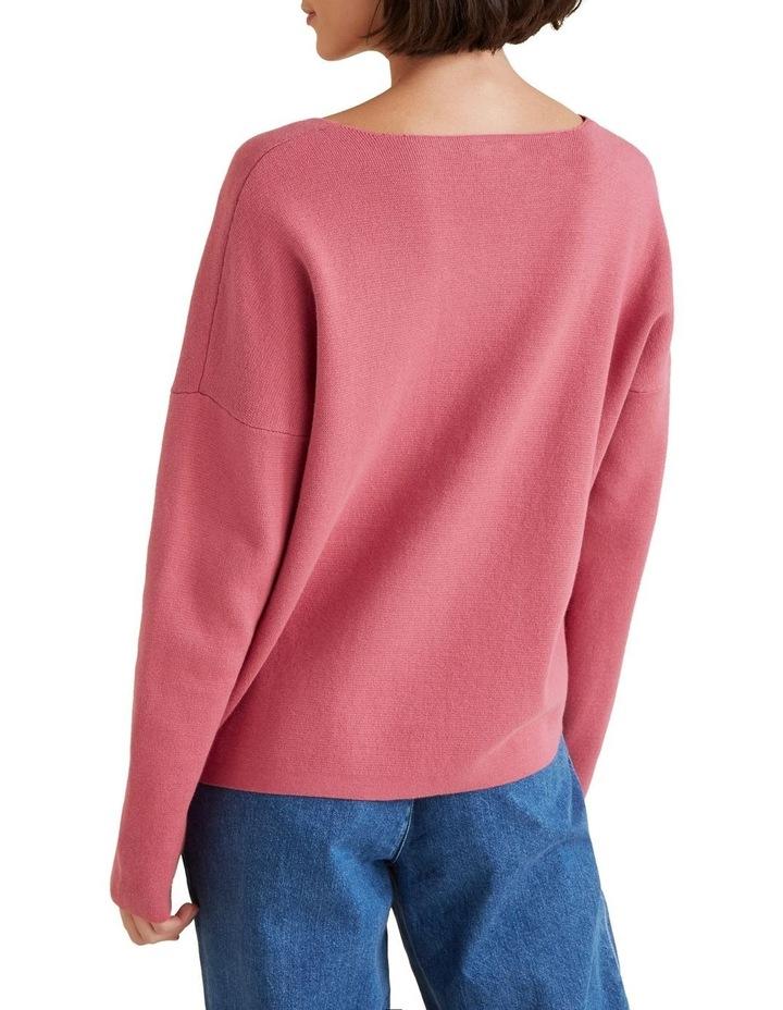 V Neck Essential Sweater image 3
