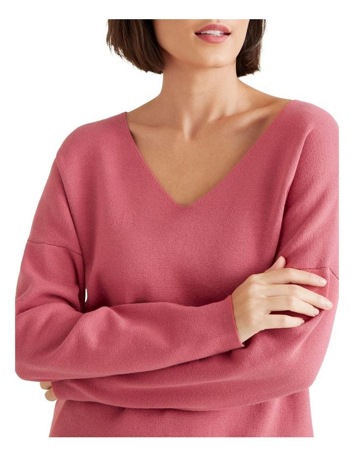 V Neck Essential Sweater image 4