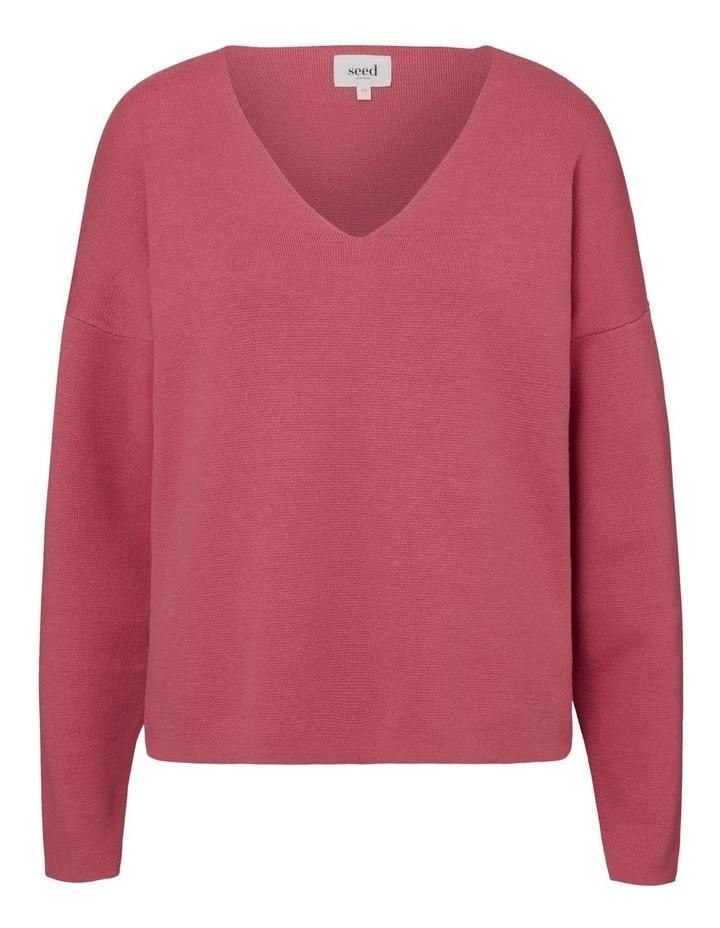 V Neck Essential Sweater image 5