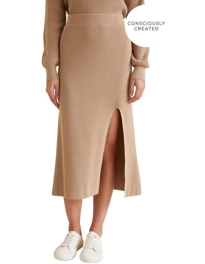 Sustainable Knit Skirt image 1