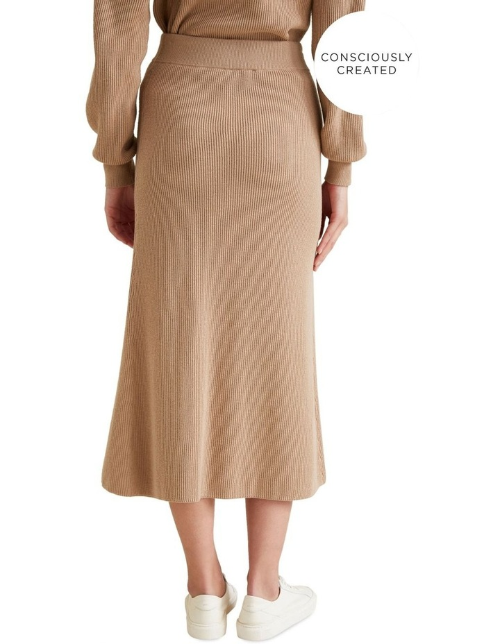 Sustainable Knit Skirt image 3
