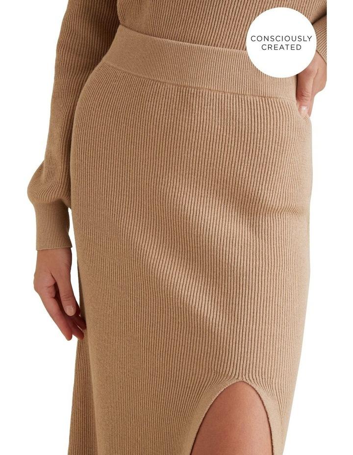 Sustainable Knit Skirt image 4