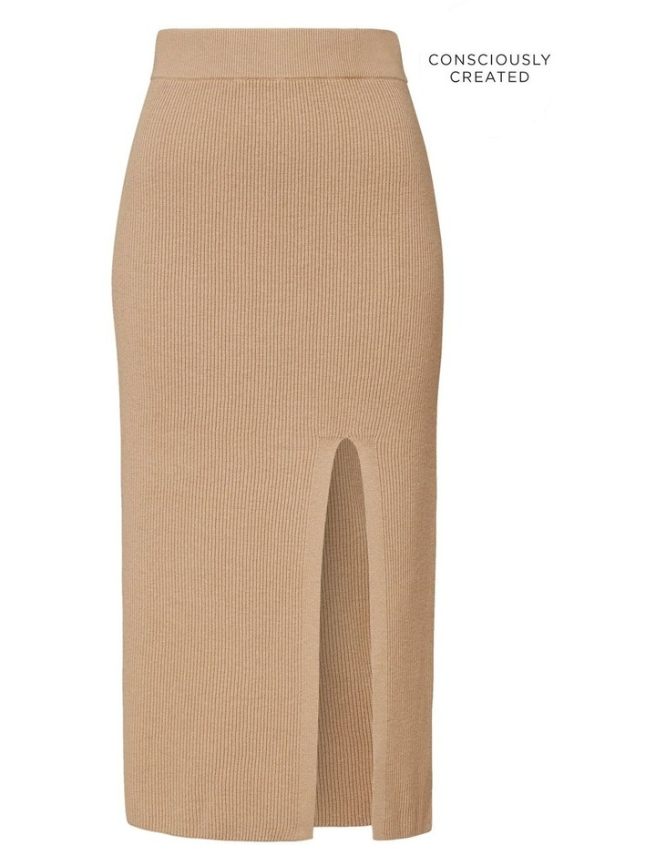 Sustainable Knit Skirt image 5