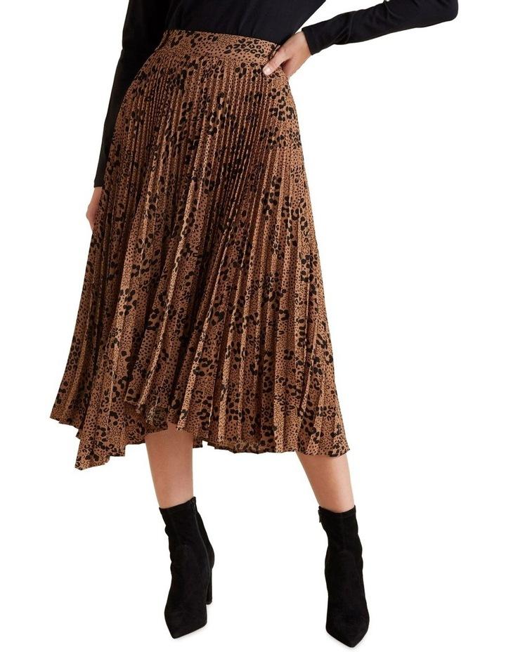 Animal Pleat Skirt image 1