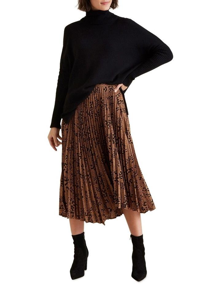 Animal Pleat Skirt image 2