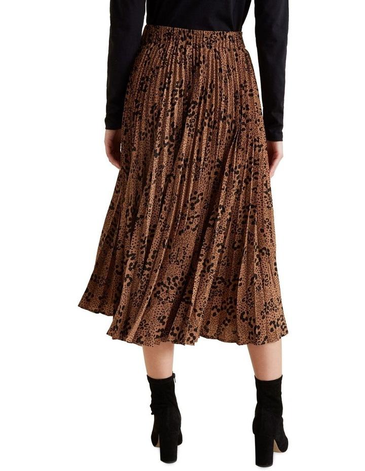 Animal Pleat Skirt image 3