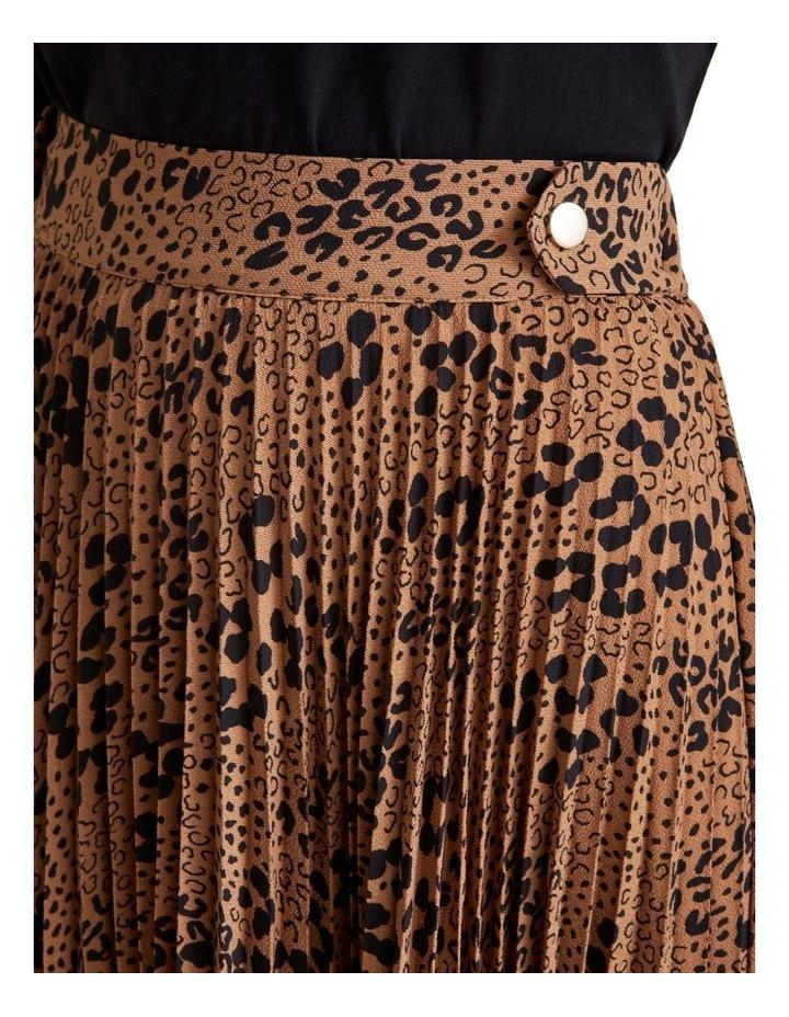 Animal Pleat Skirt image 4