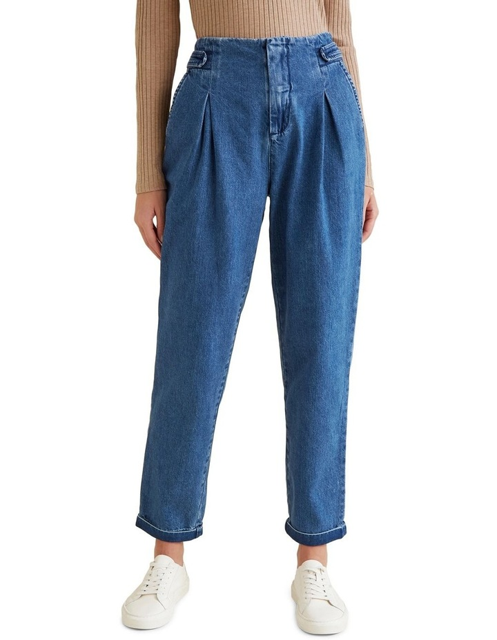 Flat Front Tab Jean image 1