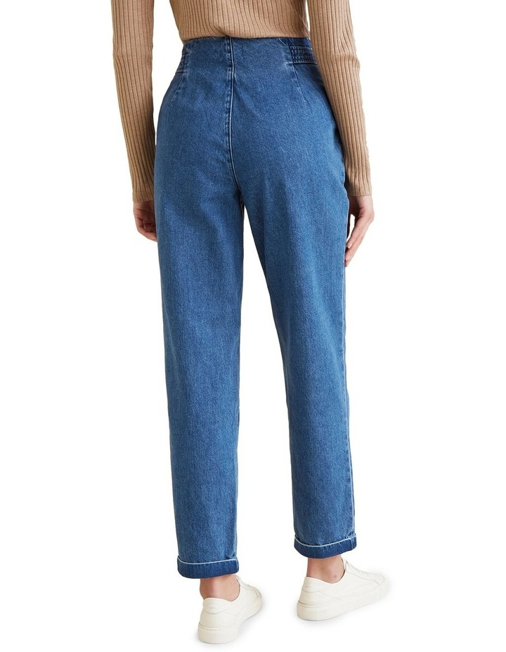 Flat Front Tab Jean image 3