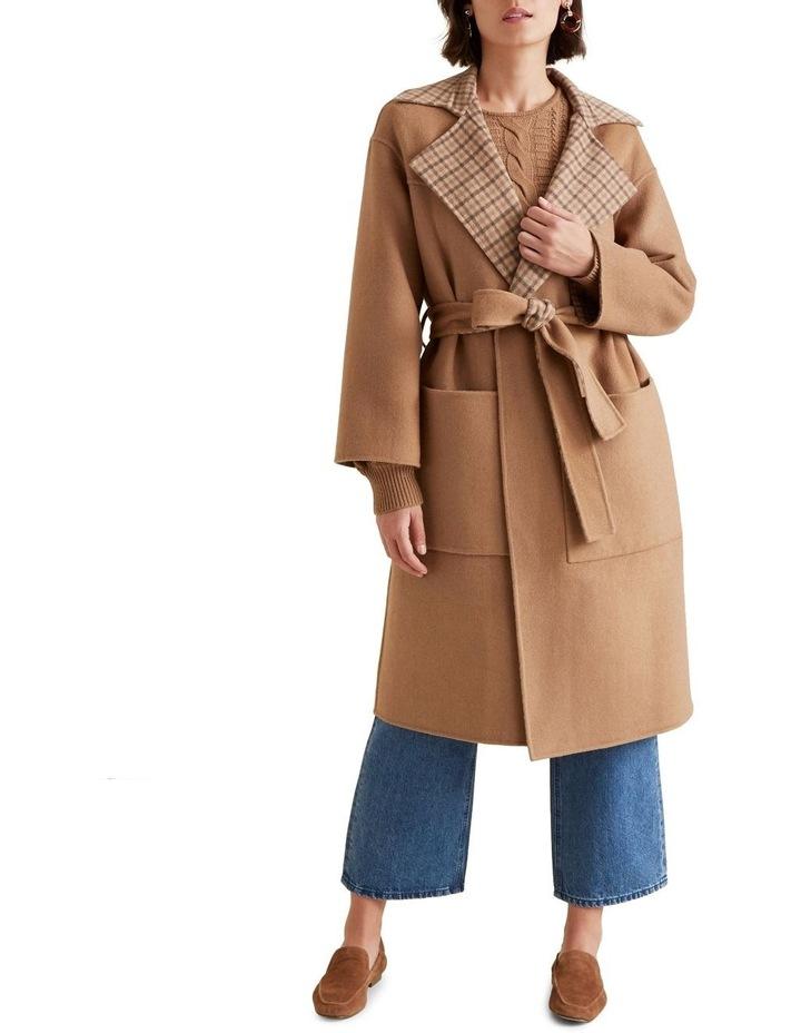 Reversible Tie Up Coat image 5