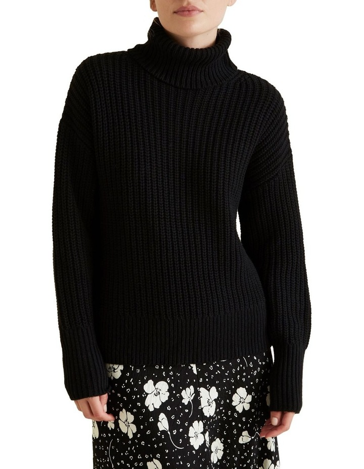 Roll Neck Classic Sweater image 1