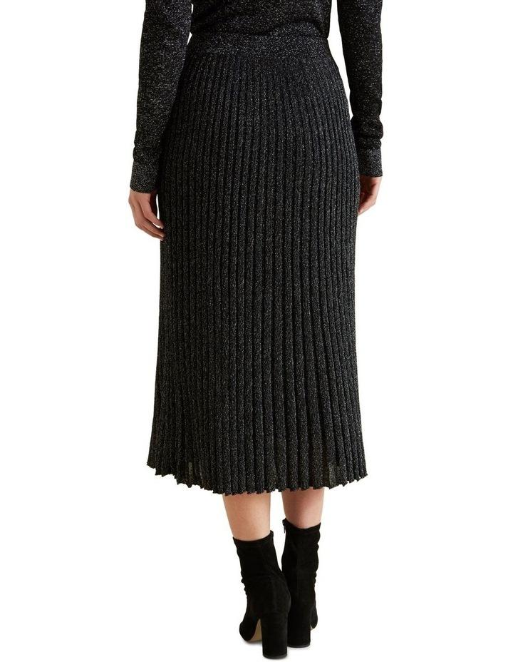 Metallic Knit Skirt image 3