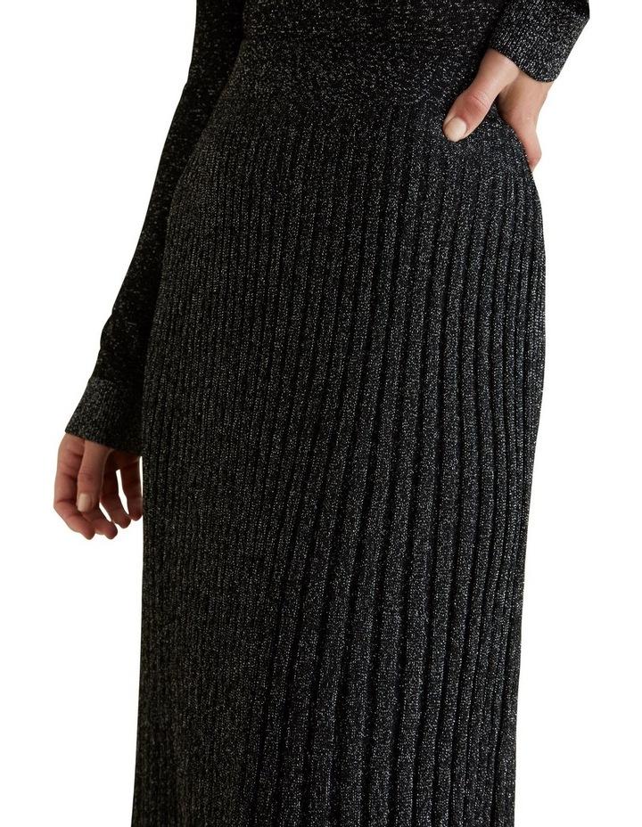 Metallic Knit Skirt image 4