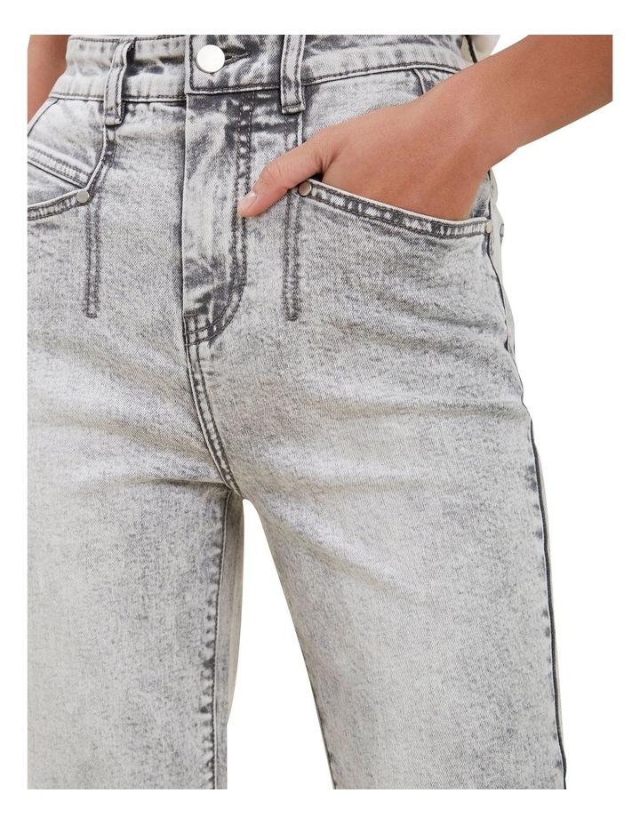 Acid Wash Straight Leg Jean image 4