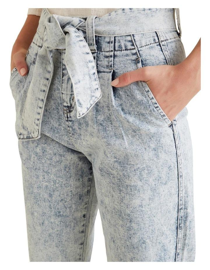 Tie Up Denim Pants image 4