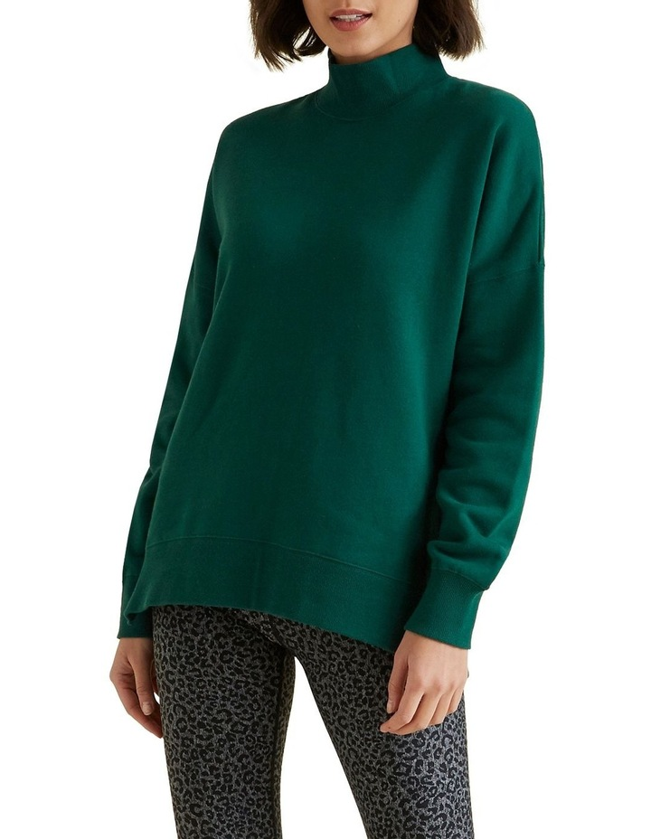 Mock Neck Sweater image 2