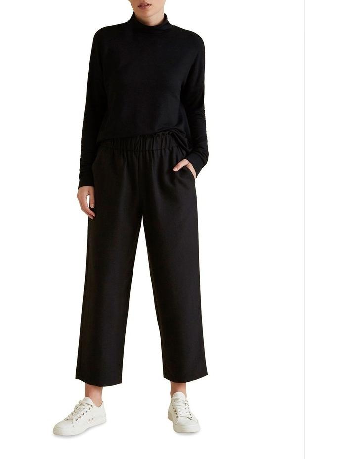 Wide Leg Textured Pant image 2
