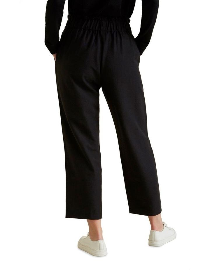 Wide Leg Textured Pant image 3