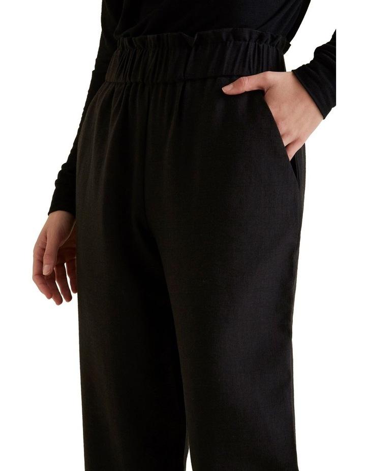 Wide Leg Textured Pant image 4