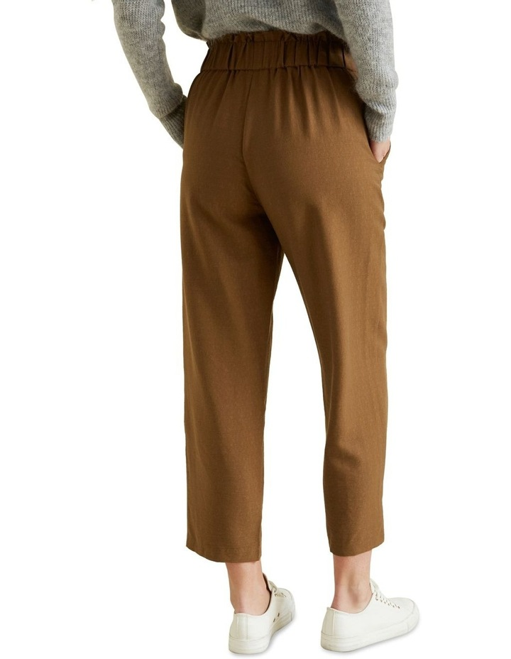 Wide Leg Textured Pant image 3