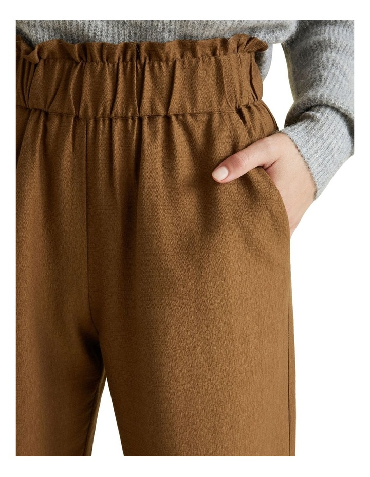 Wide Leg Textured Pant image 4