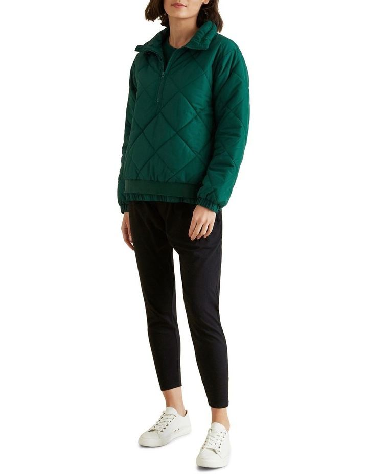 Quilted Zip Puffer image 2