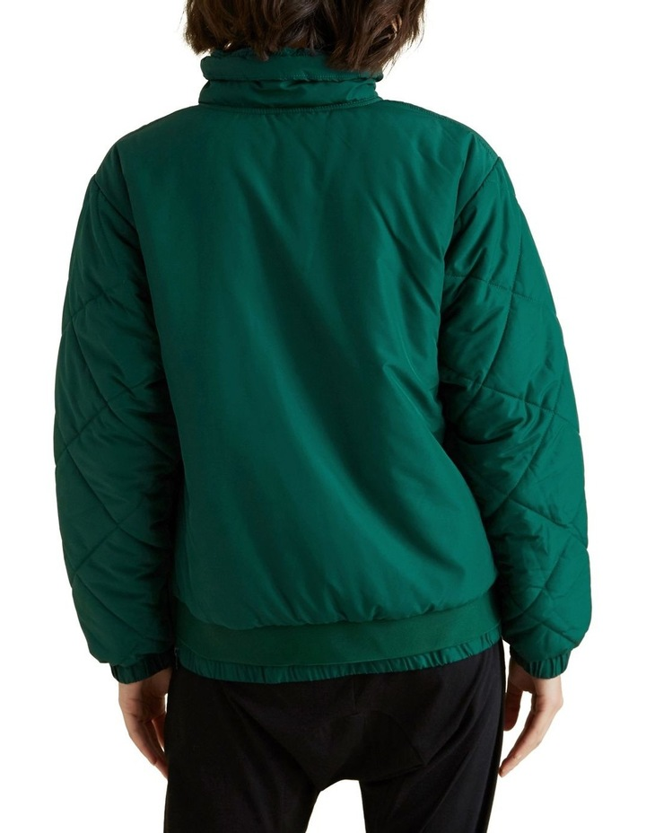 Quilted Zip Puffer image 3