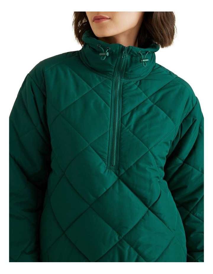 Quilted Zip Puffer image 5