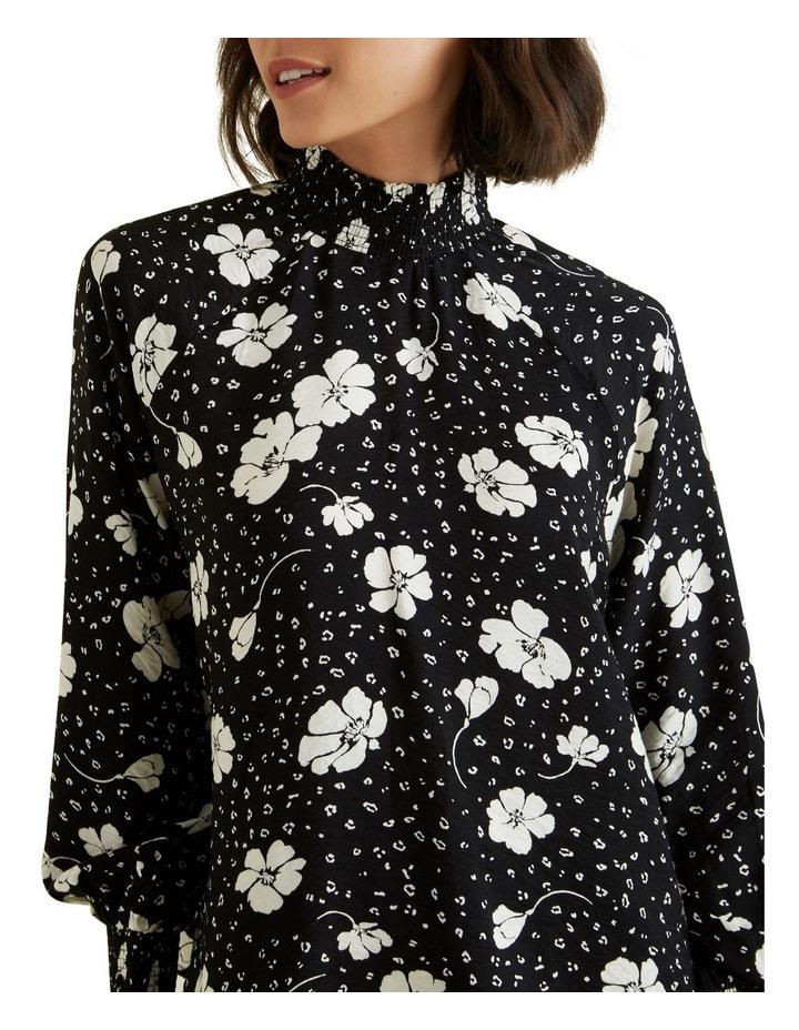 Shirred Floral Blouse image 4