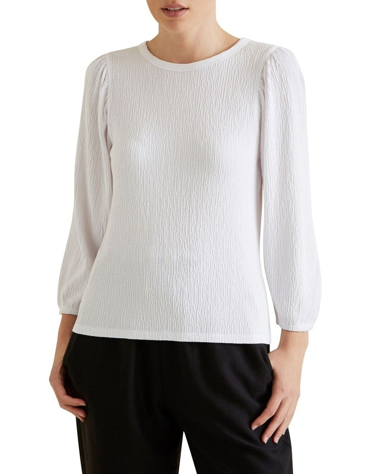 Blouson Puff Sleeve Top image 1