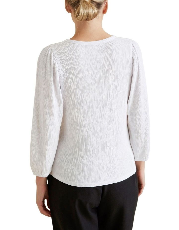 Blouson Puff Sleeve Top image 3